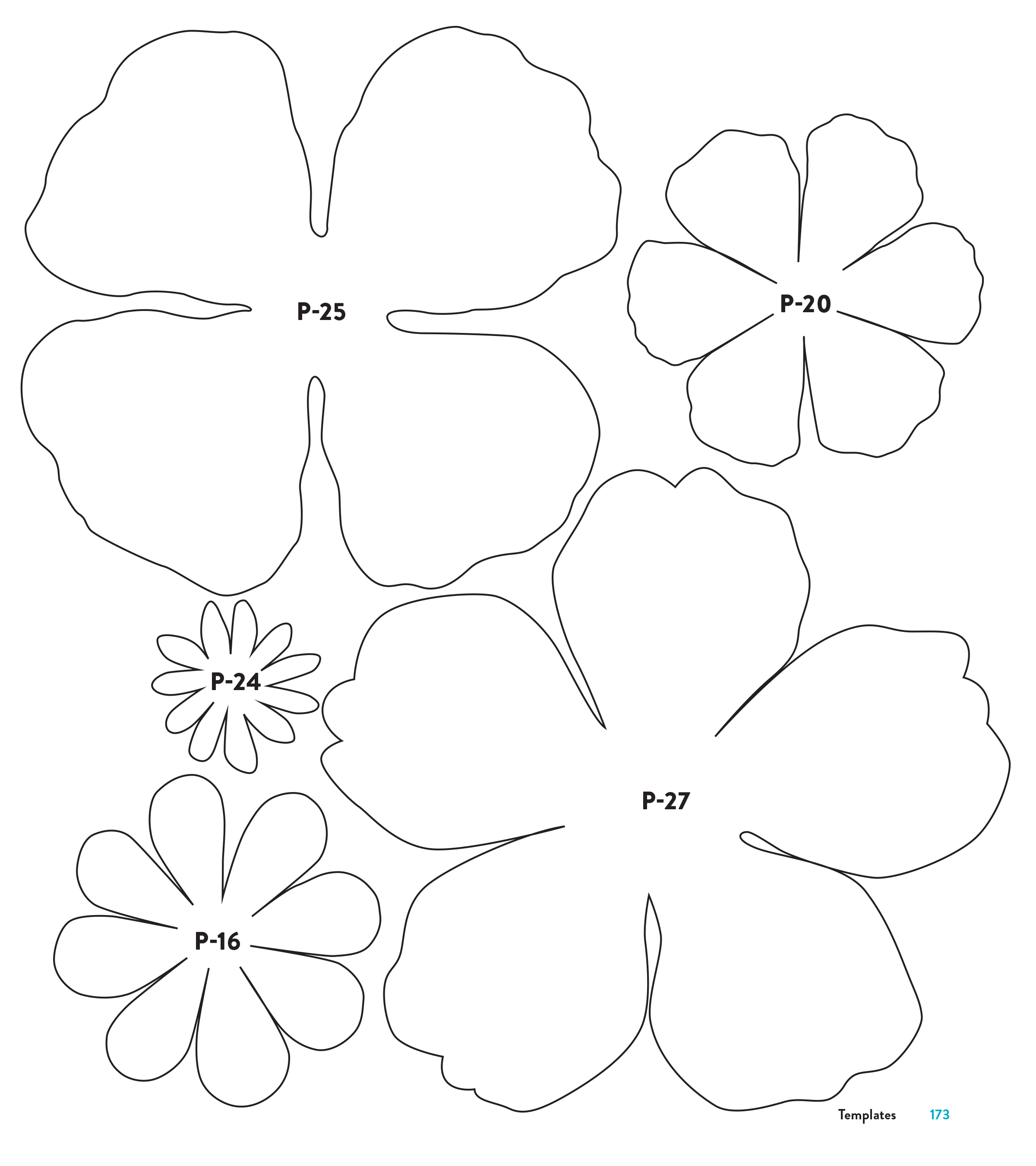 These Paper Flower Petal Templates Were Made Available For Kindle Readers